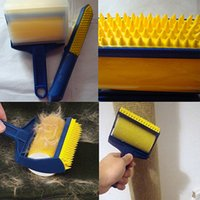 Wholesale Reusable Sticky Buddy Carpet Clothes Lint Fur Remover Cleaner Roller Brush