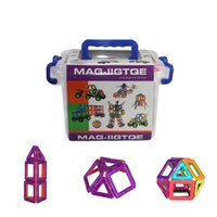 Wholesale 33 Magformers Educational Magnetic Construction Building Set Kids Magnet Toy