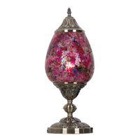 art deco mosaics - Southeast Asia Mosaic Bedroom Desk Lamps Kid s Room Glass Desk Lights Lamp Living Room Table Light Fixtures