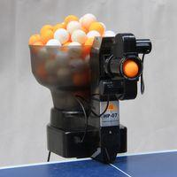 Wholesale Table Tennis Ball Machine HP Automatic Rotation Multidrop Table Tennis Robots Tee Device