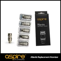 Wholesale Newest Aspire Original Atlantis Sub ohm Coil for Aspire Newest Atlantis ml Tank big vapor with better taste