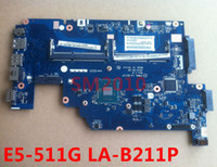 ATX Others SATA Wholesale-Z5WAL LA-B211P mainboard for Acer Aspire E5series E5-511 E5-511P E5-511G Laptop Motherboards MB NBMPK11001 CPU N3530