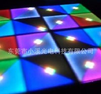 Wholesale KTV bar stage floor wedding stage lighting equipment exhibition floor acrylic surface stage Tstation Voice of floor tiles lights