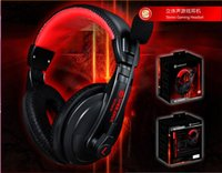apple computer brand - Genuine SG5900 Head mounted Computer Headphones Headset With Microphone Heavy Bass Stereo Earphone Computer Wired Headwear Headphones