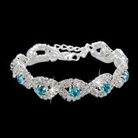 Wholesale 2014 Women Fashion Jewelry New Arrival Crystal Bracelet High quality Crystal Bracelets For Women Girl SBR140169