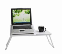Cheap Folding Notebook Desk,Portable Laptop Desk, Foldable Laptop Table Stand Computer Notebook Bed Tray,Free shipping from USA Warehouse