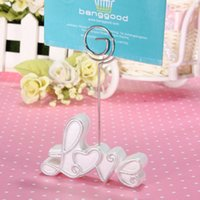 best love seat - Best Promotion Wedding Supply Table Number Menu Seating Place Card Exquisite Love Clip Lowest Price