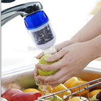 Wholesale 2015 new creative Activated Carbon Tap Water Purifier Use For Kitchen Faucet Tap Water Filter Purifier