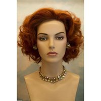 Cheap synthetic hair wigs Best curling synthetic hair