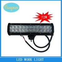 Cheap 12 cree led work light Best 6000K Flood Light Led car light bar