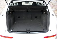 audi trunk mat - Waterproof shockproof PU leather folding car trunk mat For Audi Q5