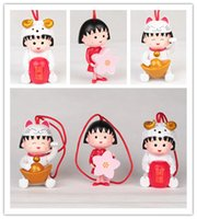 Wholesale 3pcs sakura momoko Anime figures Garage Kits Kids Girl figure toy doll