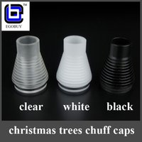 christmas trees wholesale - New christmas trees in Chuff pom enuff top caps drip tips gifts for Patriot Infinite CLT Stillare doge Atty v2 plume veil
