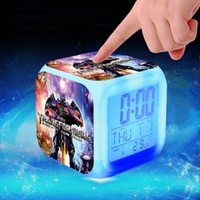 age calendar - Age of Extinction LED Alarm Clock Colors Change Digital Alarm Clock Night light Kids Gifts Christmas Gifts