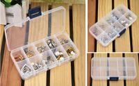 bead organizer case - Newest Slots Plastic Organizer Storage Box Case Slot Plastic Jewelry Adjustable Compartments Box Case Craft Organizer Storage Beads