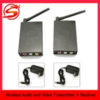 4 Channel tv transmitter and receiver - Wireless camara GHz channel TV Audio Video AV Transmitter Sender and Receiver With M Transmission Range SUR_301