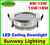 ceiling light - 15w led downlights Recessed Downlights Ceiling light W W W W Dimmable Angle Warm Cool White lamp sportlight flexible LED lighting