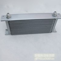 Wholesale Imperially silver mocal oil cooler oil refires radiator an8 connector refires order lt no track