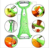 Wholesale 3000pcs CCA3042 Random Color Fruit Vegetable Ceramic Peeler Kitchen Tool Gadget Helper Vegetable Fruit Peeler Parer Julienne Cutter Slicer