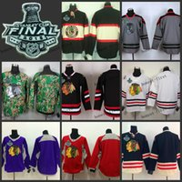 Ice Hockey blank hockey jerseys - chicago blank Practice CCM Throwback Final Stanley Cup Season ICE Hockey jerseys Price Polyester Jersey
