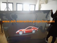 ad film - NEW ARRIVE Fast shipping rear projection mirror film for shop window ads
