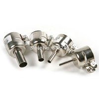 Wholesale 4 Stainless Steel Hot Air Gun Nozzle mm or Soldering Station Hot Air Stations order lt no track