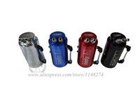 Wholesale D1 Spec Racing Oil Catch Tank Aluminum Round style Tank have stocked and ready to ship
