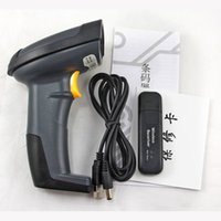 Wholesale USB Wireless Handheld Visible Barcode Scanner Reader GHz nm Laser
