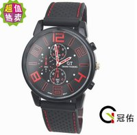 Wholesale Racing Men Sports Watches Luxury Grand Touring Silicone Men Quartz Military Watch SH004 HOT