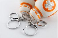 bb cars - 2016 new Star War The Force Awakens BB Key chain Episode VII Movie Toy car keyring Bag Purse Pendant Accessory