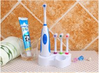 Wholesale high quality Battery Electric Toothbrush Ultrasonic Sonic Rotary Electric Toothbrush No Rechargeable Tooth Brush Electric