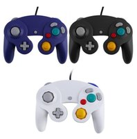 Wholesale Wii Game Controller Wired Controller Gamepad Joystick for Nintendo for GameCube For Wii Platinum Black color