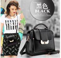 womens wholesale handbags - 2015New Fashion Lady Shoulder bags Women Messenger Handbags PU Leather bags womens shoulder bags wholsale more color H1114