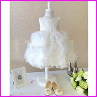 Cheap Pure Lace White Flowers Sash Flower Girls Pageant Dresses First Communion Dress 2015 Customized in China