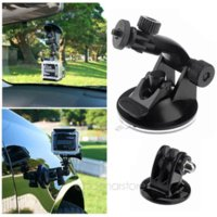 Wholesale Top Quality CM Dia Car Windshield Glass Suction Cup Mount Tripod Adapter for GoPro Hero Cameras LX SY0033 C9 M46031