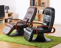 Office executive chair - Ergonomic Computer Chair Armchair Leather Black Brown Degree Swivel Modern Office Furniture Reclining Comfortable Executive Chair