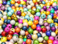 Wholesale 500 Mixed Color d Illusion Miracle Beads mm Spacer