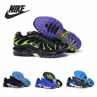 Wholesale Nike TN Air Max Mens Running Shoes Outdoor Athletic Sneakers Trainers Footwear Tennis Basketball Boots size Mix Order QDFHH