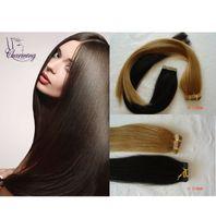 Wholesale Charming Hair New Arrival High Grade Brazilian Virgin Human Straight Tape Hair Keratin Fusion Hair Extensions