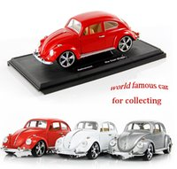 Wholesale MZ World Famous Beatle Alloy Car Model Exquisite Design1 Proportion All the Doors Are Available to Open Good Choice for Gift Collecting