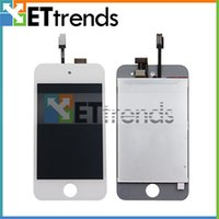Wholesale LCD Display Digitizer Touch Screen Full Assembly For iPod Touch High Quality Black White AA0085