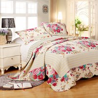 Wholesale decorative new design bedcover patchwork quilt