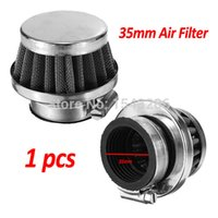 Wholesale 35mm Air Filter Cleaner for cc cc cc cc ATVs Quad Dirt Pit Bike Go Kart