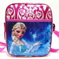 Wholesale 2016 Frozen Cartoon Character Mini School Bag Children Book Bags Girls Queen Pack Small Backpack Kids Bags