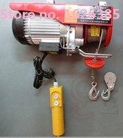 Wholesale V50HZ kg KG M MINI lifting hoist electric wire rope hoist