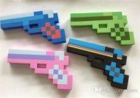 Рождественский подарок Minecraft мои мировые EVA пены бриллианты пистолет пистолета оружие handarm оружие кирку меч игрушка игры для мальчиков детей детей