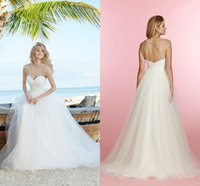 Cheap 2015 New Grecian Style Wedding Dresses A Line Sheer Crew Neck Open Back Beads Crystals Pleats Sweep Train Tulle Formal Bridal Gowns