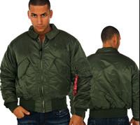 alpha p - Fall Direct Alpha factory airmen jacket CWU P Nomex MA1 winter jacket Men s casual cotton winter coat short paragraph