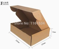 Wholesale 50pcs cm logo printing kraft paper boxes custom gift packaging box corrugated paper shipping cake packing boxes