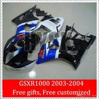 Wholesale Injection Sportbike Fairings For GSXR1000 Suzuki k3 GSXR GSX R1000 Black White Blue GSX R1000 Fairing Kits Customized